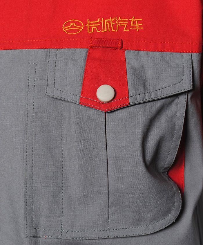 长城汽车工作服款式 防寒工作服棉质工衣厂服冬季